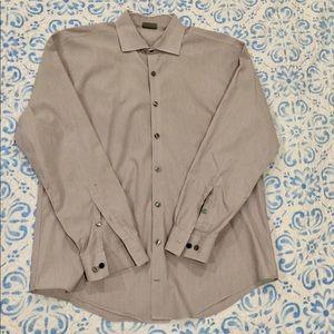 Kenneth Cole Reaction Men's Slim-Fit Dress Shirt